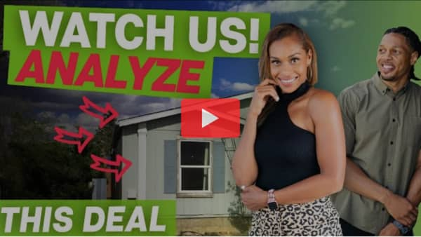 mobile home deal review: $11,000 in 24 hours on property affixed to land