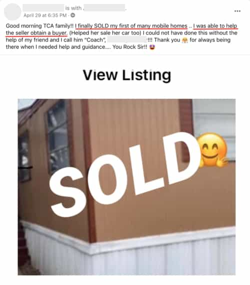 First deal helped seller find a buyer for home and car